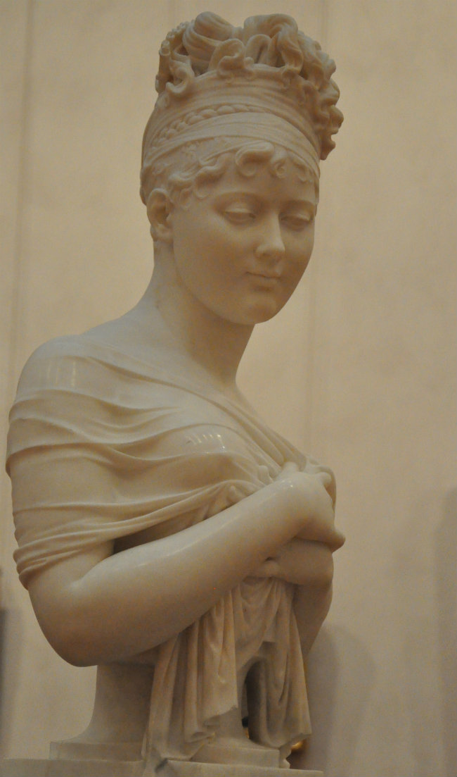 Bust of Juliette Récamier by Chinard