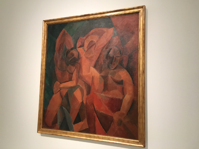 Pablo Picasso, Three Women (1907-1908). The State Hermitage Museum, St Petersburg. Photo: MW Nicklin
