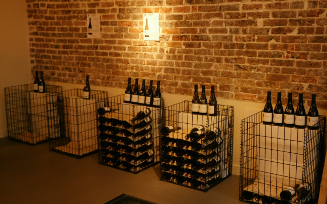 Wine at Les Vignerons Parisiens