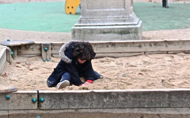 Sandbox in Paris