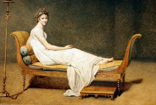 Madame Récamier, by Jacques Louis David