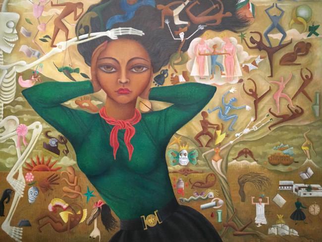 Rosa Rolando's Self Portrait