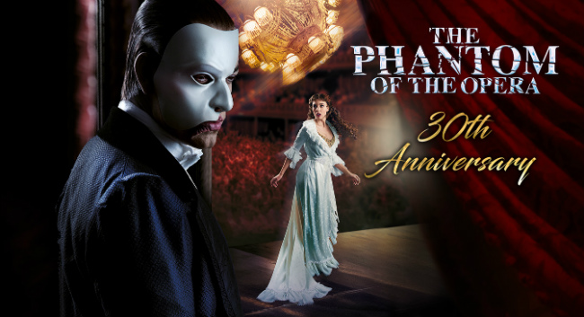 "30th anniversary of ""The Phantom of the Opera"""