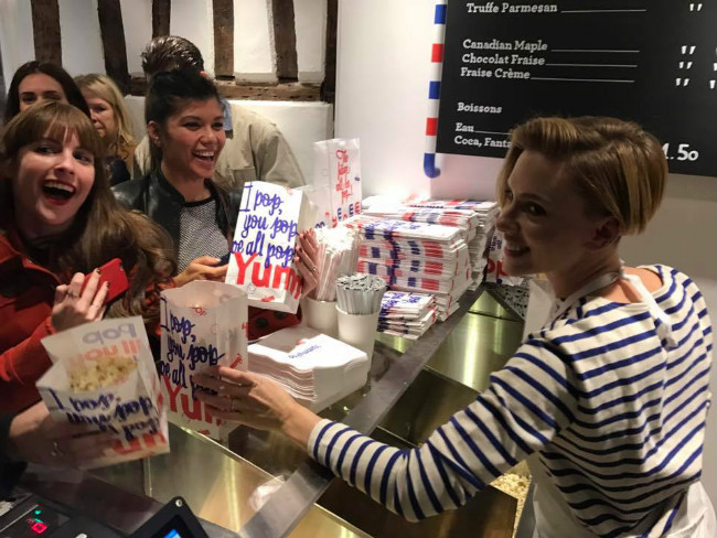 Popcorn in Paris: Scarlett Johansson Opens Shop in the Marais