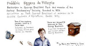 Parisians in Profile, Beekeeper Frédéric Eggers de Villepin. By Emma Jacobs