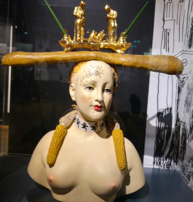 Retrospective Bust of a Woman, Salvador Dali