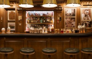 The legendary Bar Hemingway at the Ritz Paris