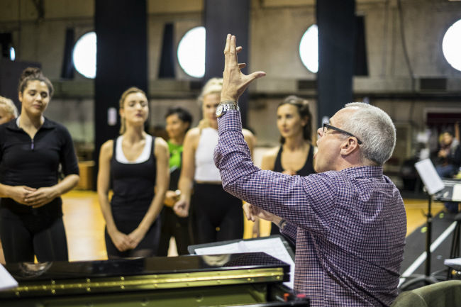 Rehearsals for 42nd Street