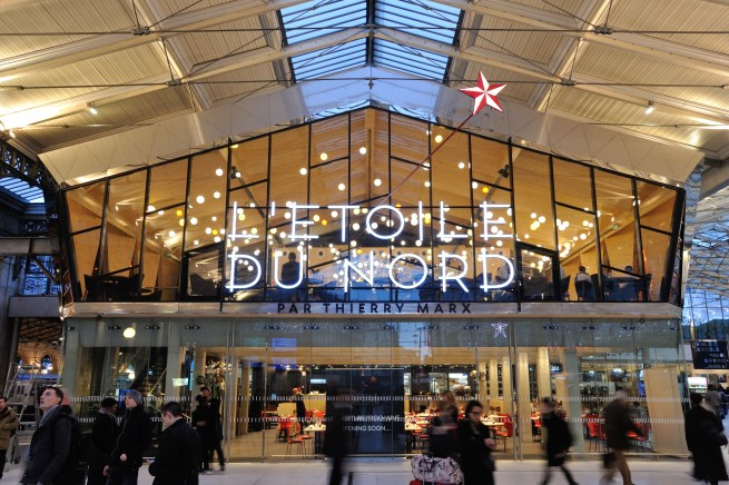 Superchef Thierry Marx's Latest Project is at Gare du Nord