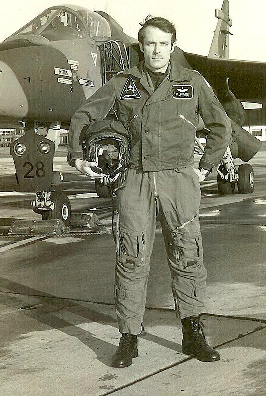 Ed Cobleigh, former fighter pilot