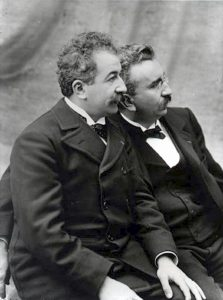 The Lumiere brothers courtesy of © Institut Lumiere & Creative Commons