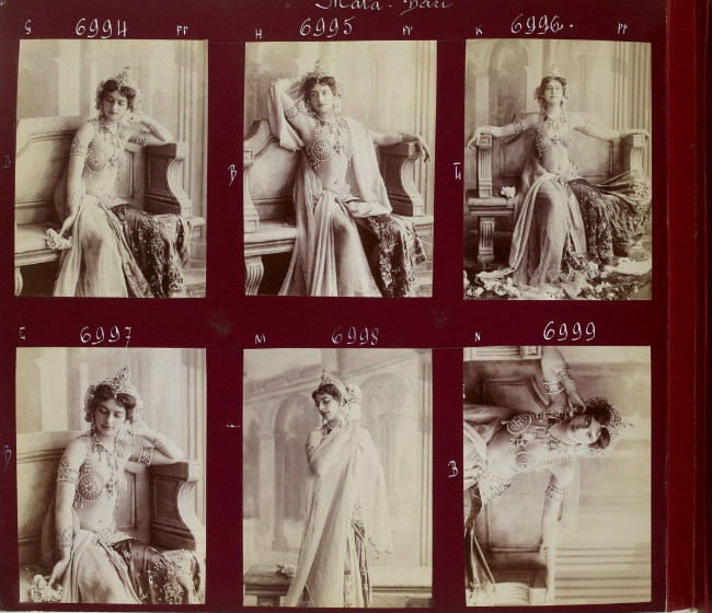 Mata Hari. Photo credit: Album Reutlinger/ Bibliothèque nationale de France