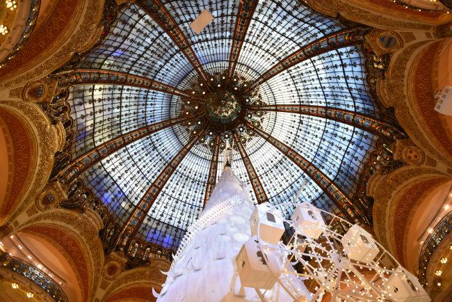 Galeries Lafayette. Photo: Krystal Kenney