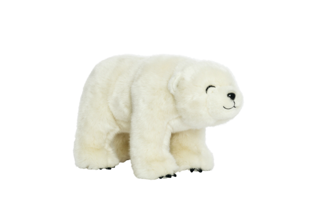 polar bear at Galeries Lafayette
