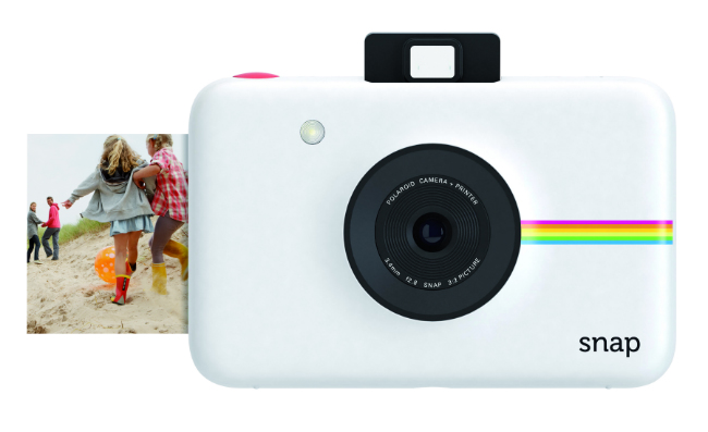 SNAP instant digital camera with printing technology. €129.99.