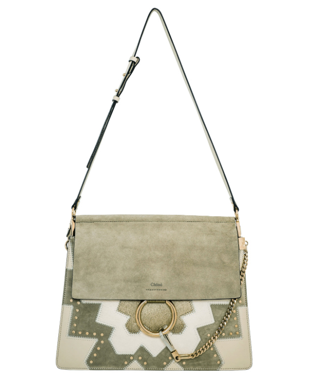 """Dream Bags."" Exclusive. CHLOÉ – Faye calfskin and goatskin leather bag. €1,750 (M)."