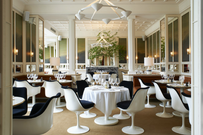 Loulou Restaurant at the Musée des Arts décoratifs
