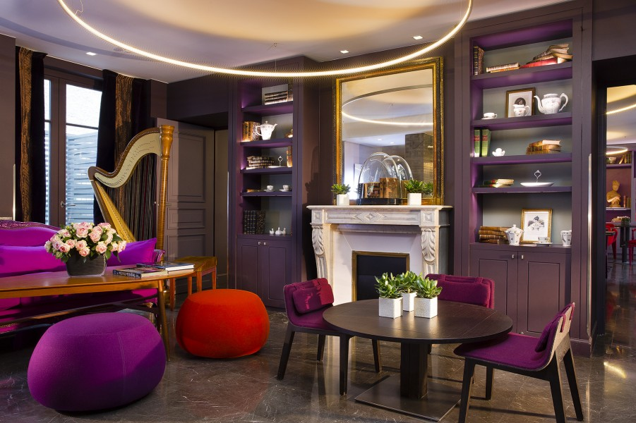 In the name of women paris hotels honor their ladies of for Salon spa paris