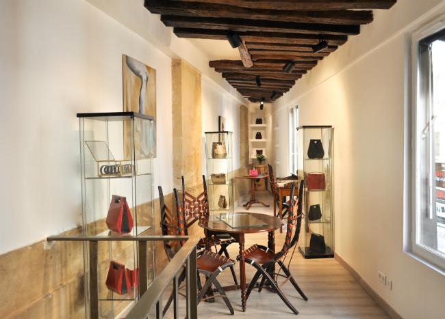 Verbreuil's new boutique on rue Saint-Roch in Paris
