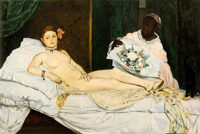 """Spotlight on Laure, Manet's Other Model in """"Olympia"""" in the Musée d'Orsay"""