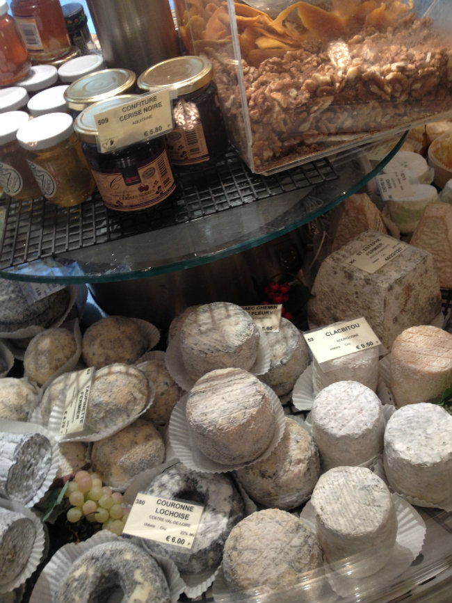 Cheese heaven in Paris