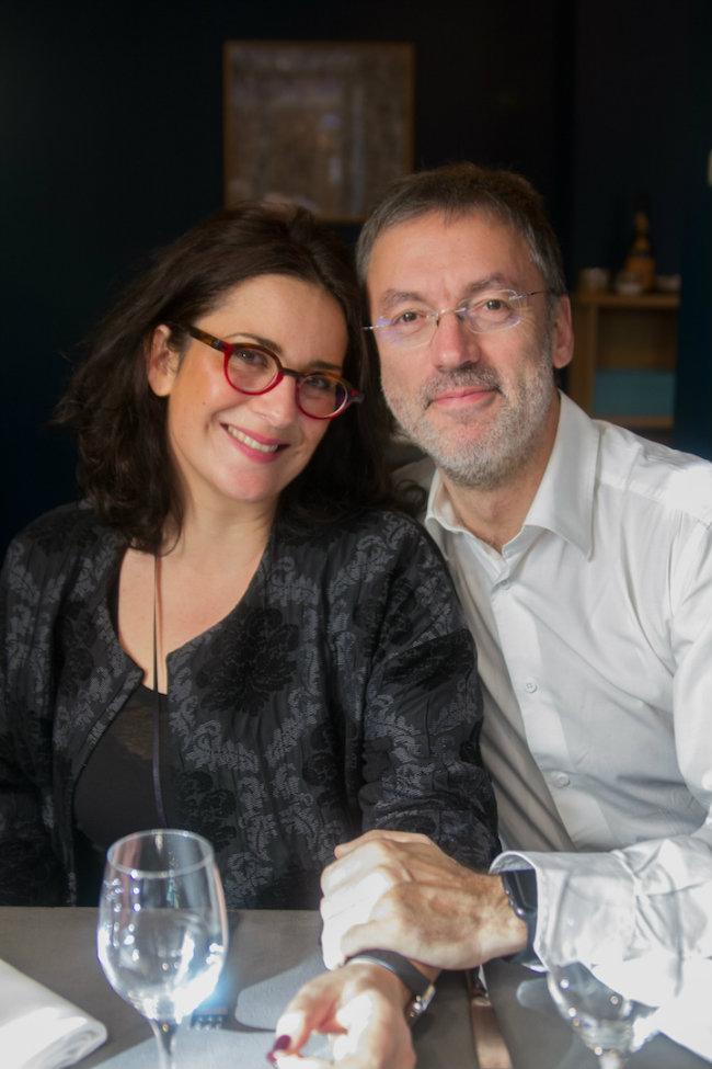 Caroline Savoy and Bruno Blain