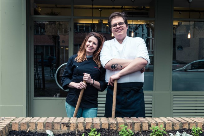 California Chef Kristin Frederick Launches GreenHouse in Paris