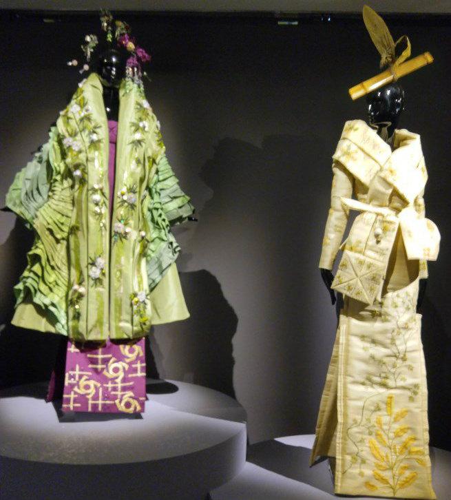 Kimono- Au Bonheur des Dames: The History of Kimonos at the Guimet Museum