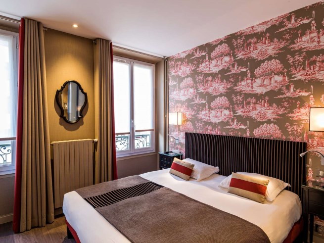 Hotel louison charming boutique hotel in the 6th for Boutique hotel 9th arrondissement