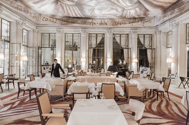 In Paris, Hotels of the Rich and Famous