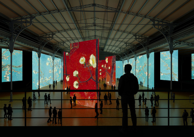 Imagine Van Gogh at La Villette