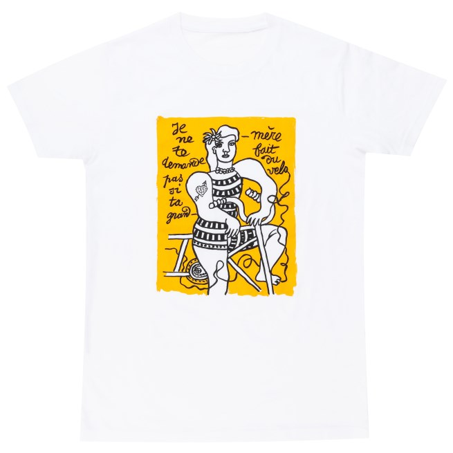 Tap into the Tour de France with a Limited Edition Arty T-Shirt