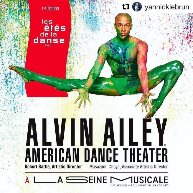 Alvin ailey dancers rock paris interview with yannick lebrun on life as a professional dancer - Alvin ailey seine musicale ...