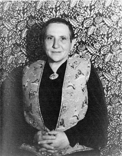 Americans in Paris, Gertrude Stein: Prose, Paintings and Politics