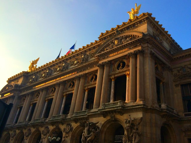 Yoga at the Palais Garnier: Poetry in Motion