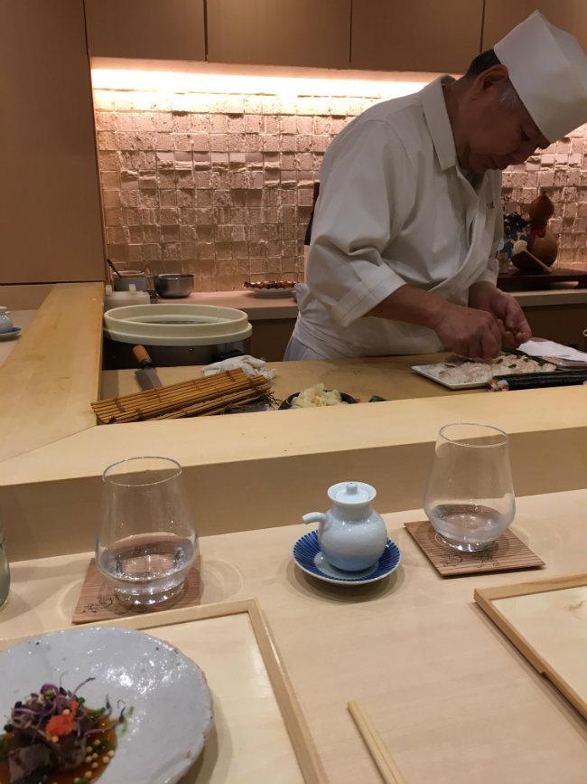 Best Japanese Food in Paris: Komatsubaki