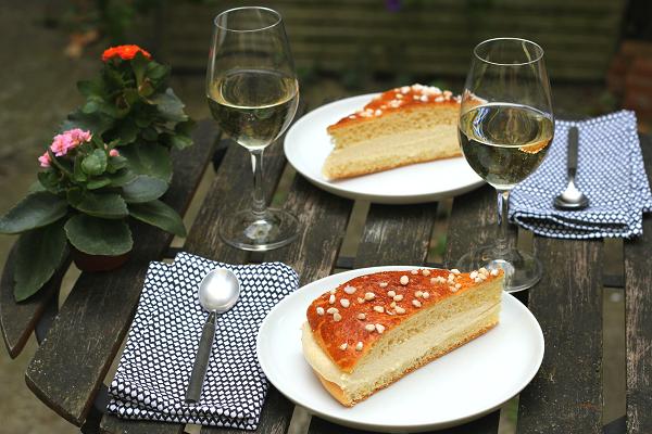 A French Recipe for Summer: Tropézienne Brioche Tart
