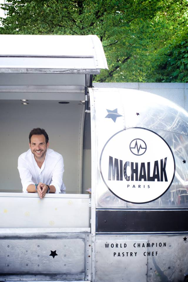 Pastry in Paris: Christophe Michalak has a Food Truck at Centre Pompidou