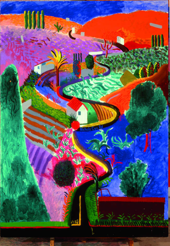 Not to Miss in Paris: David Hockney at the Centre Pompidou