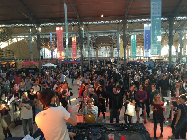 "Relais & Châteaux Presents ""Food Temple"" at the Carreau du Temple"
