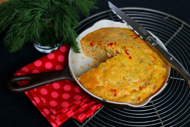 Two-Salmon Savory Bread: How to Drown a Fish