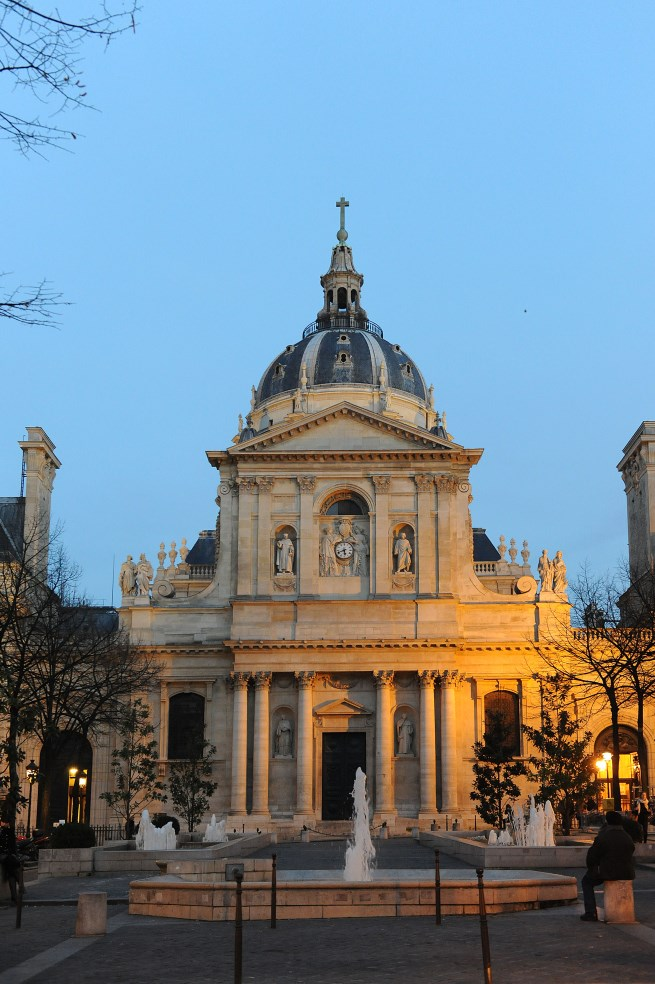 Chapelle nuit 02 for Sorbonne paris