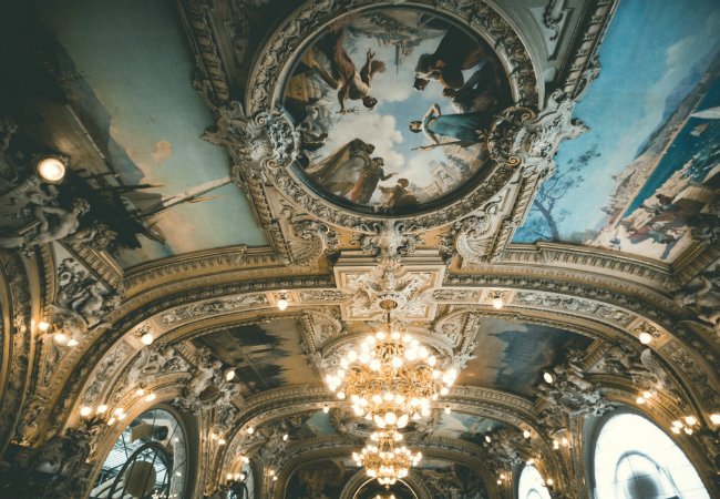 Paris Moments: Photo of the Month, Le Train Bleu