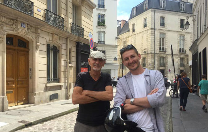 Tales from a Paris Podcaster: A Chance Encounter with Old Jim, Expat for 50+ Years