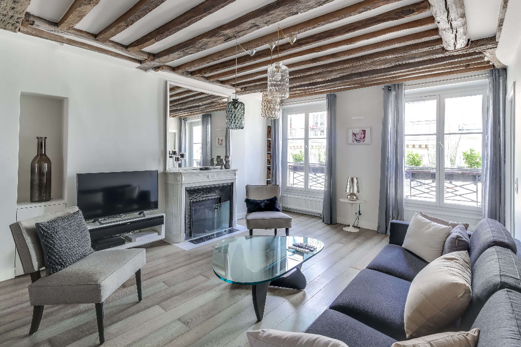 For Sale: Gorgeous Historic Apartment in the Marais ...