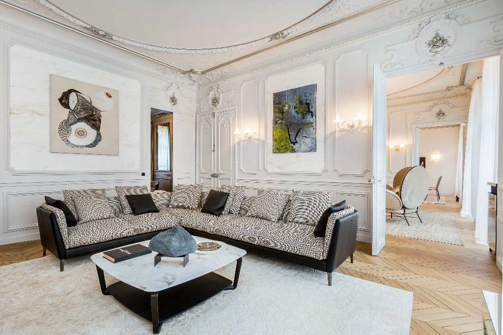 For Sale: Luxury Apartment in the Golden Triangle of Paris ...