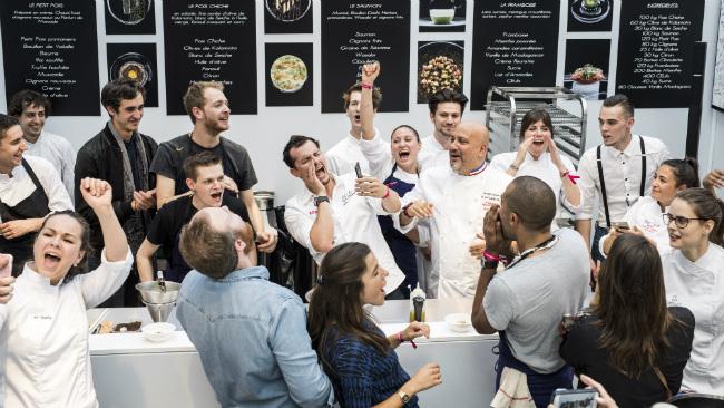 Taste of Paris 2018: Star Spangled Chefs Strut their Stuff at Le Grand Palais