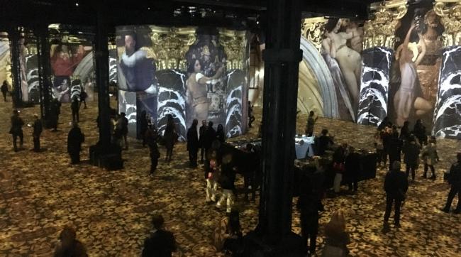 The Atelier des Lumières Makes a Splash in Paris