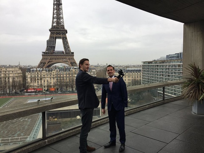 Tales from a Paris Podcaster: An Ambassador's View, The Man with the Best Balcony in Paris