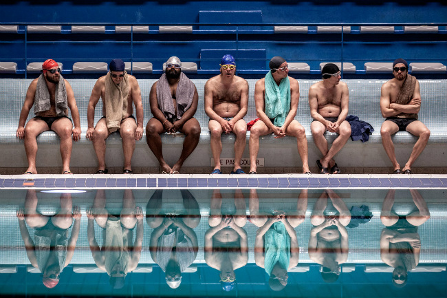 """""""Le Grand Bain"""" at Cannes Starring Guillaume Canet"""